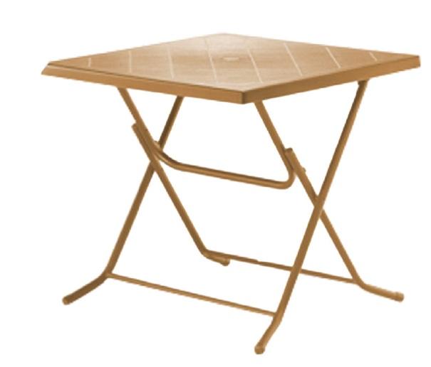 שולחן מרובע פלסטיק