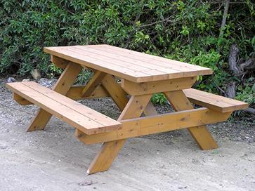 שולחן קקל מעץ