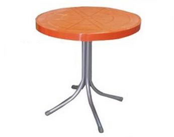 שולחן עגול מפלסטיק
