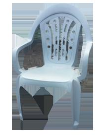כסא פלסטיק קינג