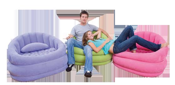 כסא מתנפח צבעוני