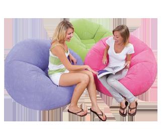 כסא מתנפח צבעוני 2