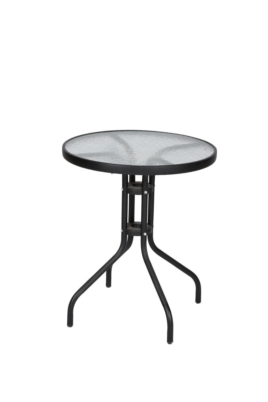 שולחן עגול מתכת
