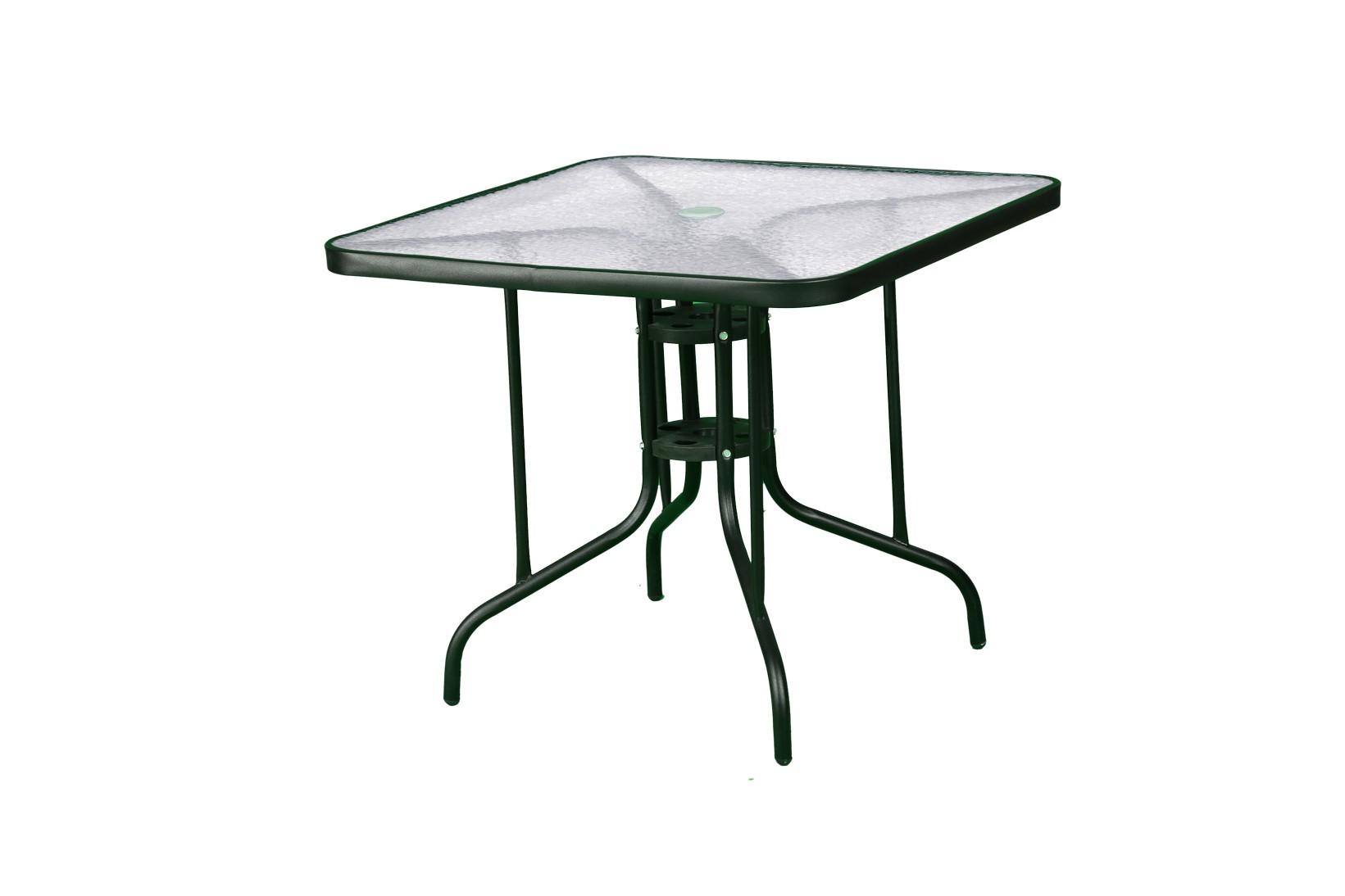 שולחן מרובע מתכת