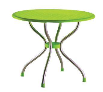 שולחן עגול פלסטיק