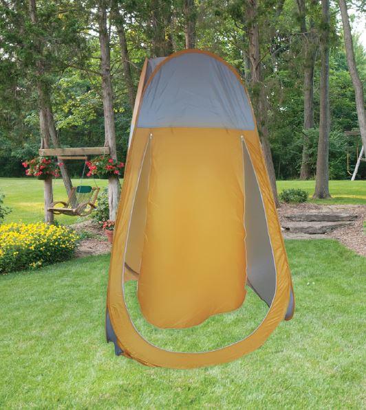 אוהל שירותים לשטח